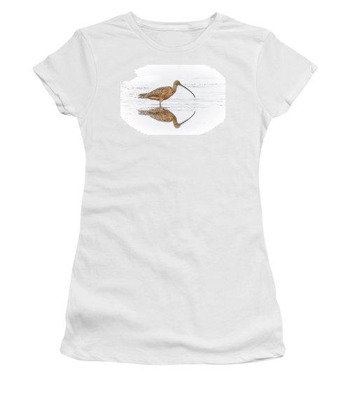 Long-billed Curlew Women's T-Shirt