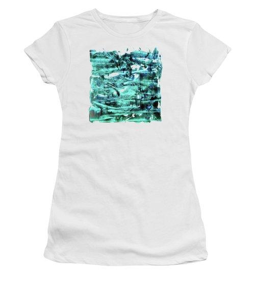 Look For The Blue Heart Women's T-Shirt