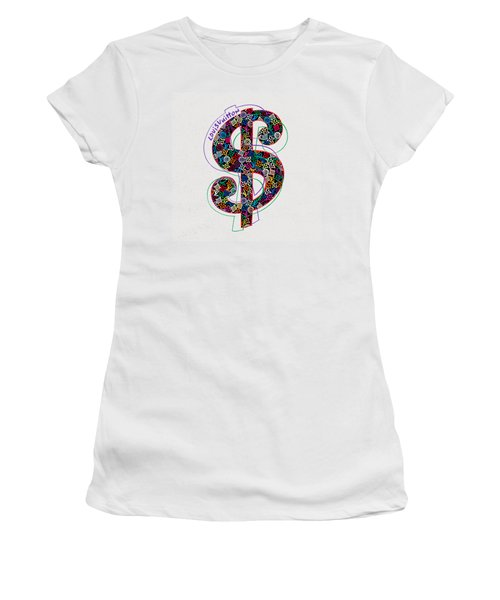 Louis Vuitton Dollar Sign-1 Women's T-Shirt