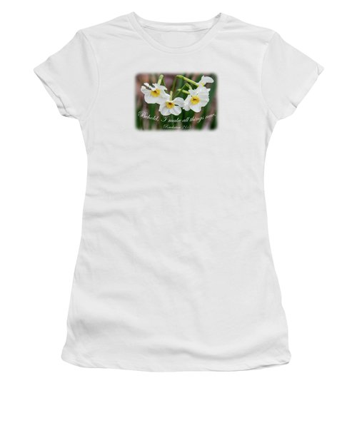 Lovely And New - Verse Women's T-Shirt