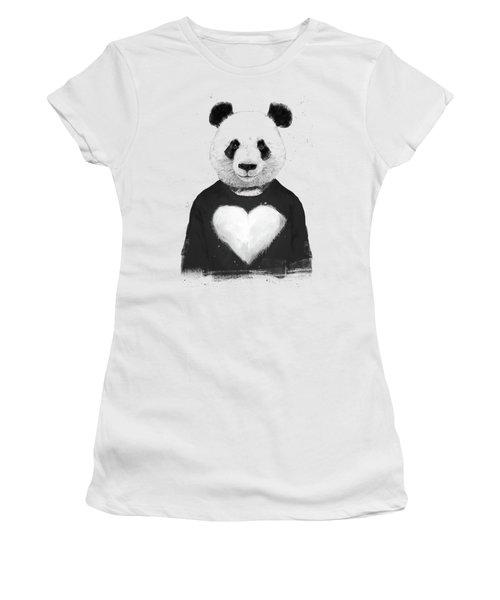 Lovely Panda  Women's T-Shirt