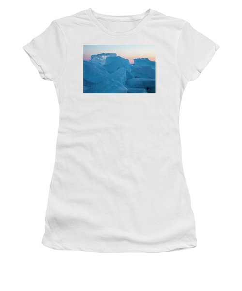 Mackinaw City Ice Formations 2161804 Women's T-Shirt