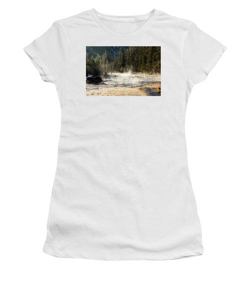 Madison River Morning Women's T-Shirt