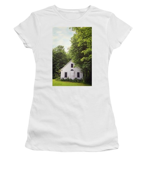 Maine School House Women's T-Shirt