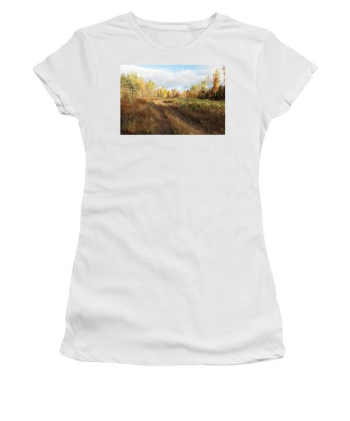 Maine Wilderness Color Women's T-Shirt