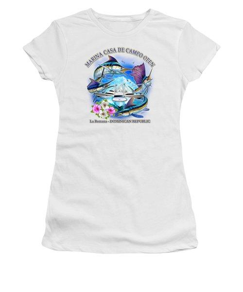 Marina Casa De Campo Open Art Women's T-Shirt