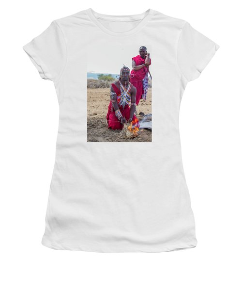 Maasai Warrior Women's T-Shirt