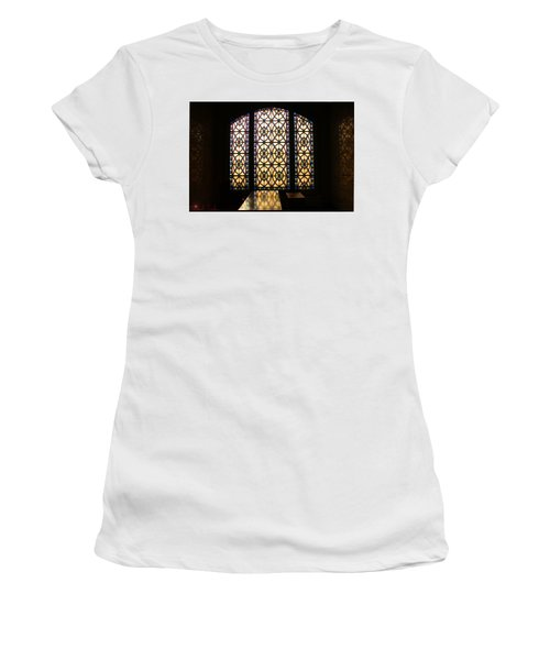 Mausoleum Stained Glass Women's T-Shirt