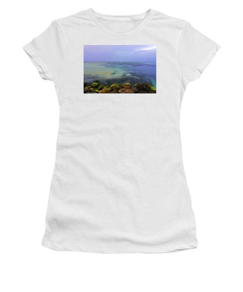 Mayan Sea Rocks Women's T-Shirt