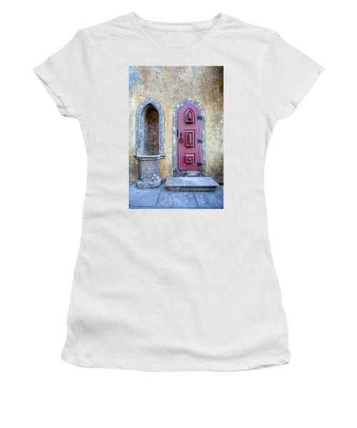 Medieval Red Door Women's T-Shirt