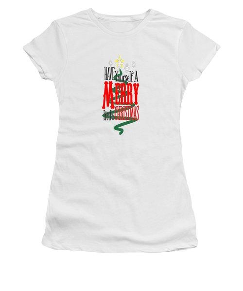 Merry Little Christmas Women's T-Shirt