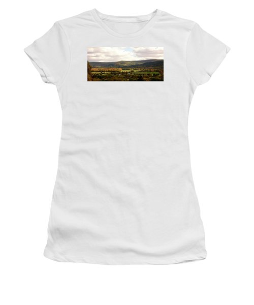 Women's T-Shirt featuring the photograph Middleburg In New York by Angie Tirado