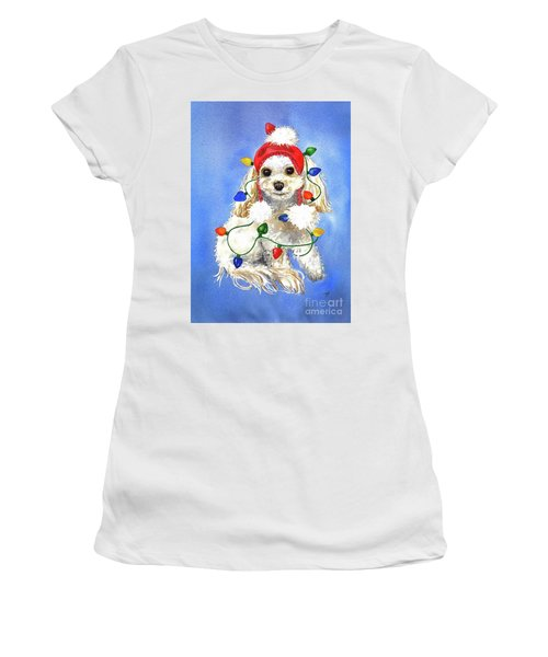 Mocha Merry And Bright Women's T-Shirt