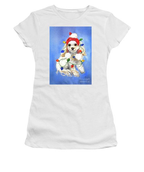 Mocha Merry And Bright Women's T-Shirt