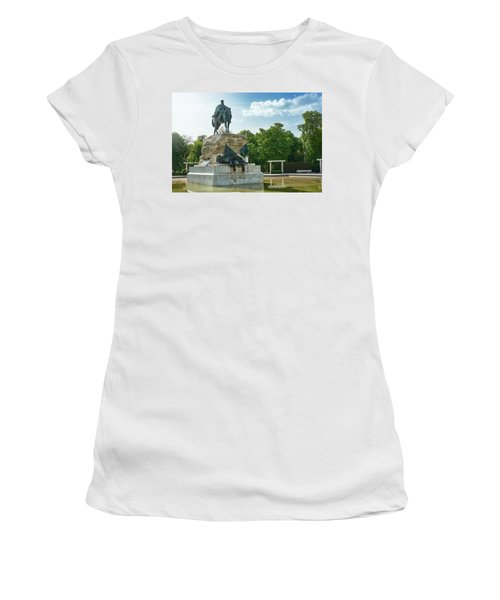 Monument To General Arsenio Martinez Campos In Madrid, Spain Women's T-Shirt