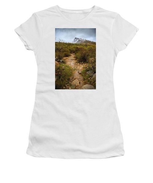 Moody Creekbed  Women's T-Shirt