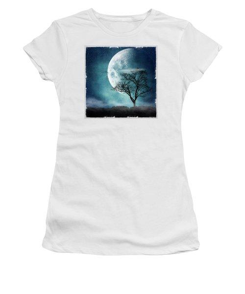 Moon Blues Women's T-Shirt