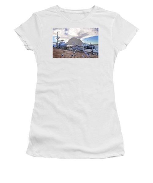 Morro Bay Harbor Women's T-Shirt