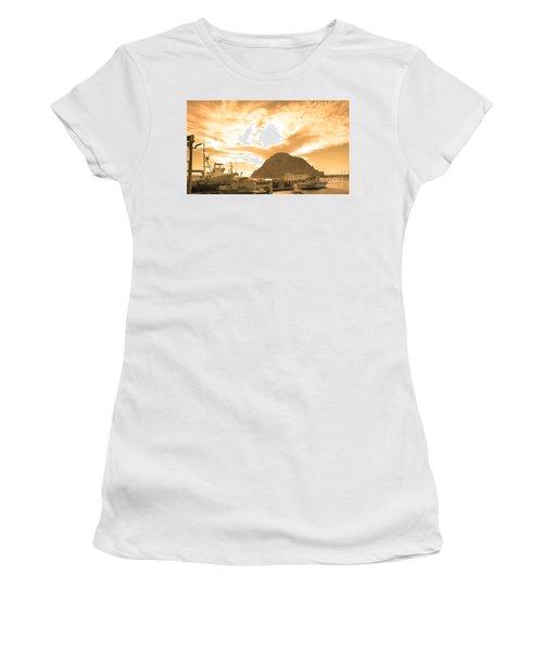 Morro Rock Sky Women's T-Shirt