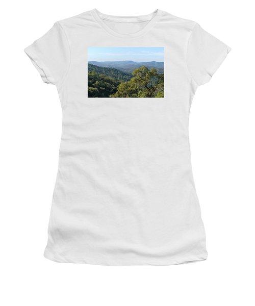 Mountains Of Loule. Serra Do Caldeirao Women's T-Shirt