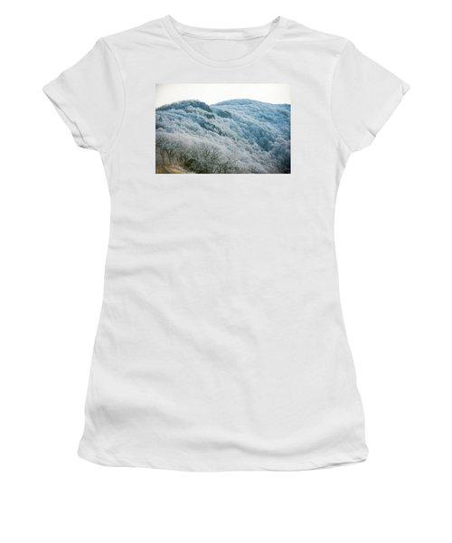 Mountainside Hoarfrost Women's T-Shirt