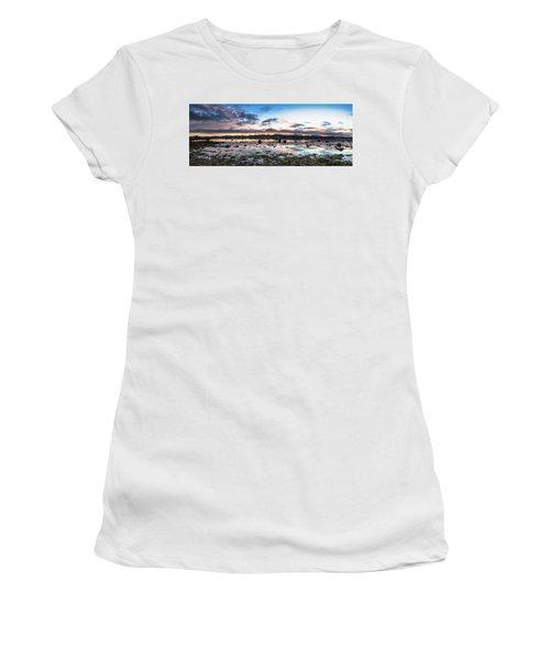 Myre Swapm Walkway On Vesteralen Norway Women's T-Shirt