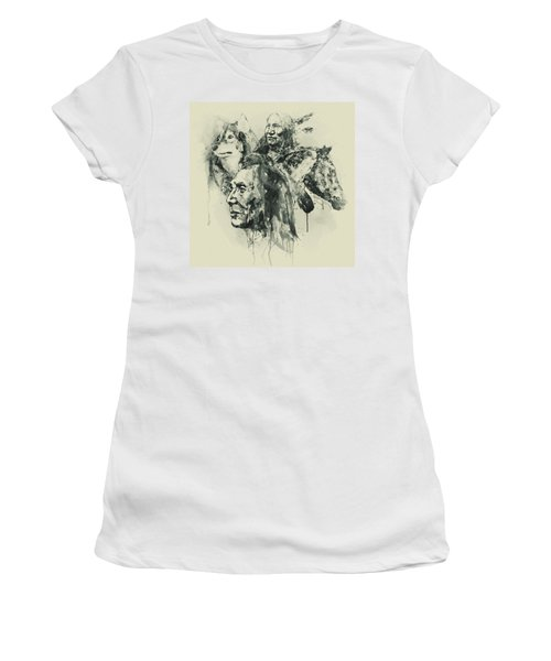 Native Heritage Vintage Collage Women's T-Shirt