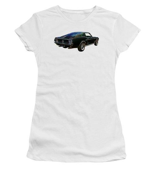 Neon Mustang Fastback 1967 Women's T-Shirt