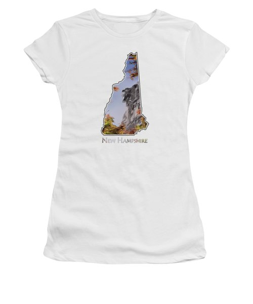 New Hampshire Old Man Logo Transparency Women's T-Shirt