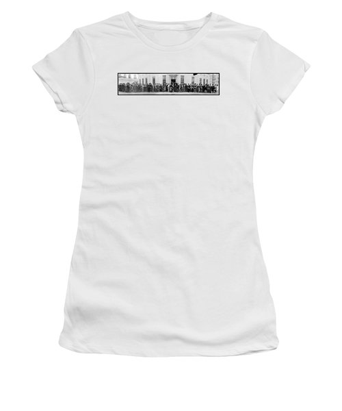 New Jersey Delegation Of Suffragists Women's T-Shirt