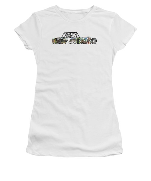 New Mexico Big Letter Women's T-Shirt