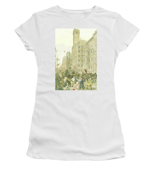 New Years Mummers On Chestnut Street Women's T-Shirt