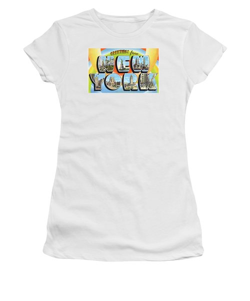 New York Greetings - Version  3 Women's T-Shirt