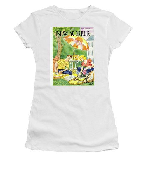 New Yorker July 12th 1947 Women's T-Shirt