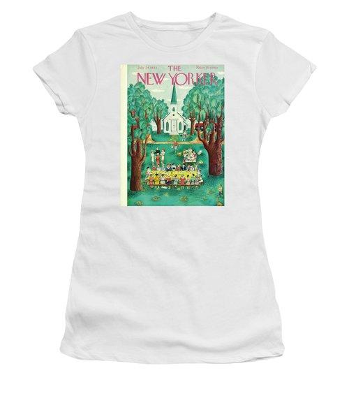 New Yorker July 24th 1943 Women's T-Shirt