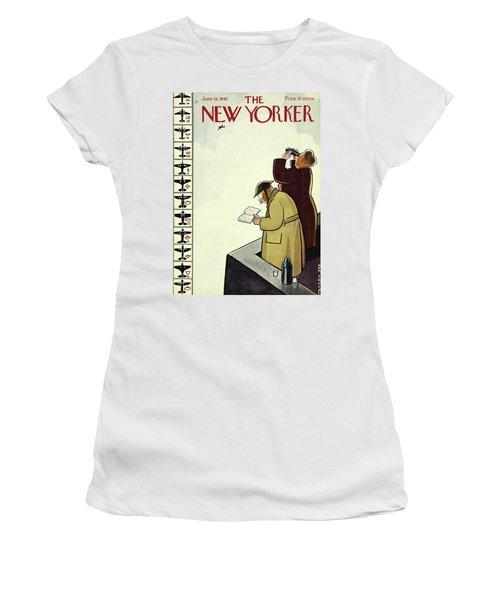 New Yorker June 13th 1942 Women's T-Shirt
