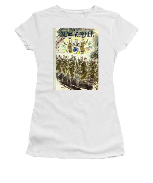 New Yorker November 7th 1942 Women's T-Shirt