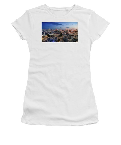 Women's T-Shirt featuring the photograph Night And Day by Stewart Marsden