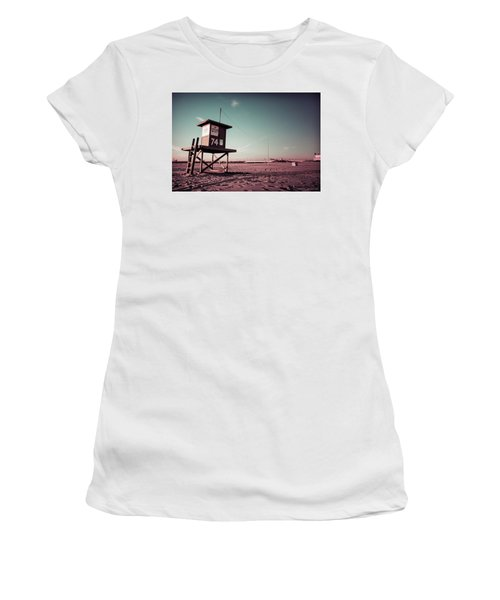 No Lifeguard On Duty Women's T-Shirt