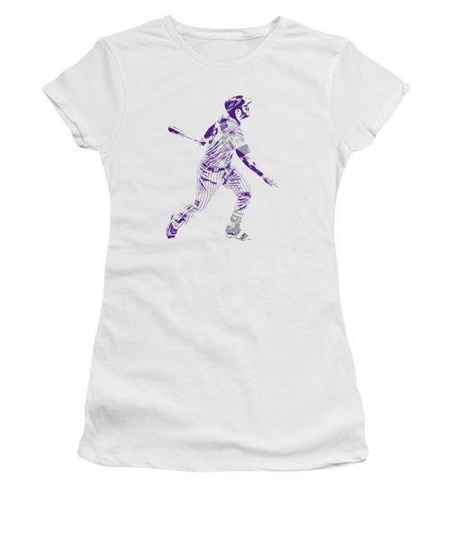 Nolan Arenado Colorado Rockies Pixel Art 5 Women's T-Shirt