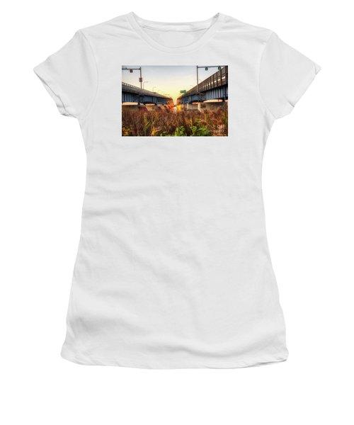 North Grand Island Bridges Women's T-Shirt