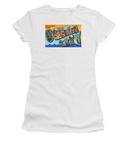 Ocean City Greetings Women's T-Shirt