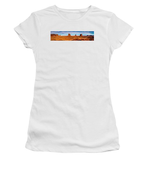 Women's T-Shirt (Athletic Fit) featuring the photograph Ocean Front Property In Arizona by David Morefield