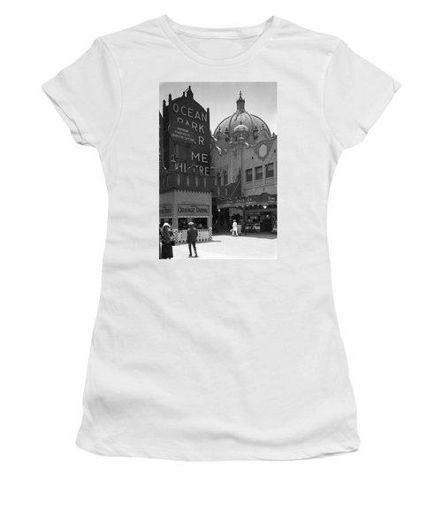 Ocean Park Pier 1920 Women's T-Shirt (Athletic Fit)