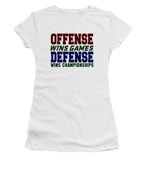 Offence Defense Women's T-Shirt