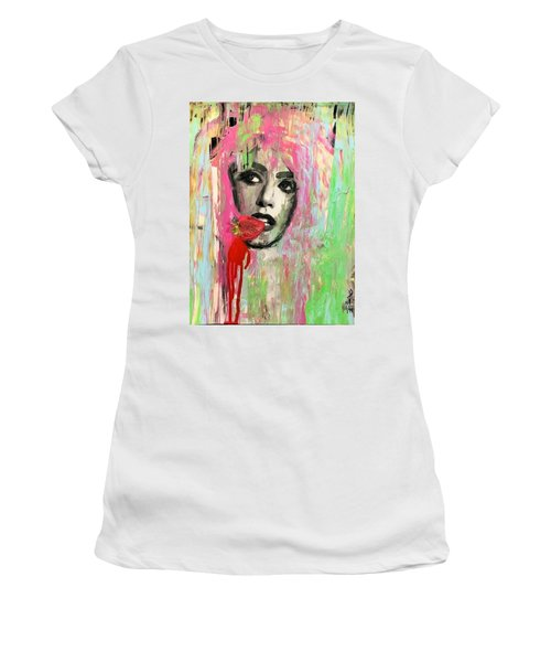 Ohh La Women's T-Shirt (Athletic Fit)