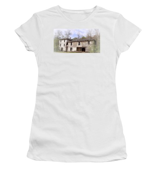 Old Abandoned House In Fluvanna County Virginia Women's T-Shirt