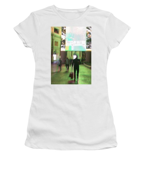 Women's T-Shirt featuring the photograph On Sale by Alex Lapidus