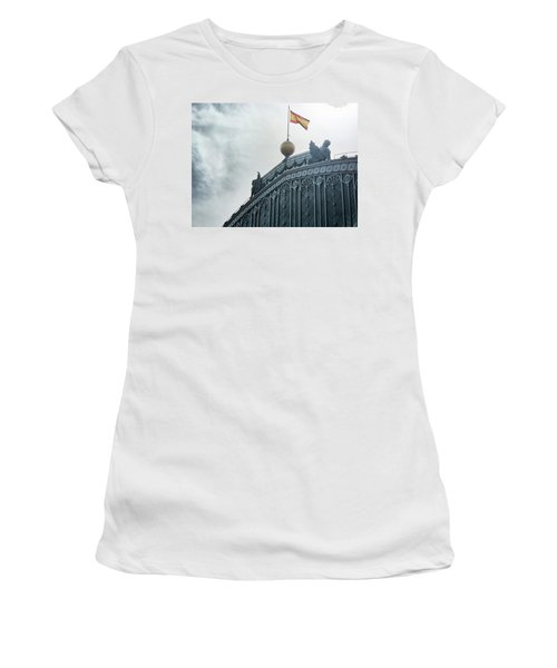 On Top Of The Puerta De Atocha Railway Station Women's T-Shirt