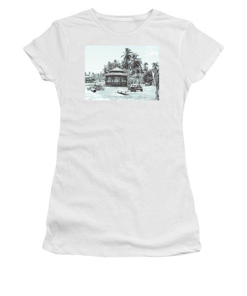 Pagoda On The Sea Women's T-Shirt